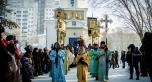 Крестный ход на Иордань в Астане на праздник Крещения Господня