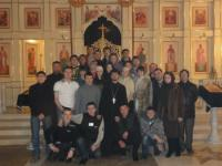 Чин прощения в Свято-Успенском кафедральном соборе столицы