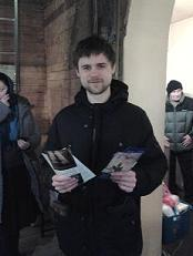 Мороз и миссия! (на Крещение Господне в Москве)